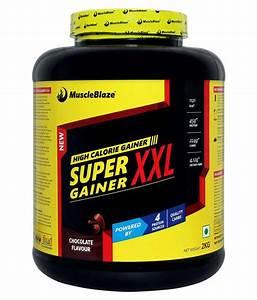 Muscleblaze Super Gainer Xxl 2 Kg Mass Gainer Powder  Buy Muscleblaze Super Gainer Xxl 2 Kg Mass