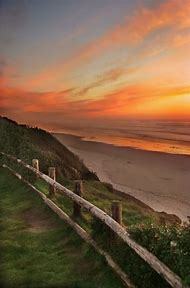 Sunset Beach Oregon