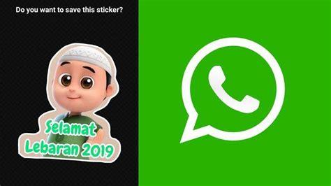 bikin stiker lebaran  whatsapp ucapan selamat hari