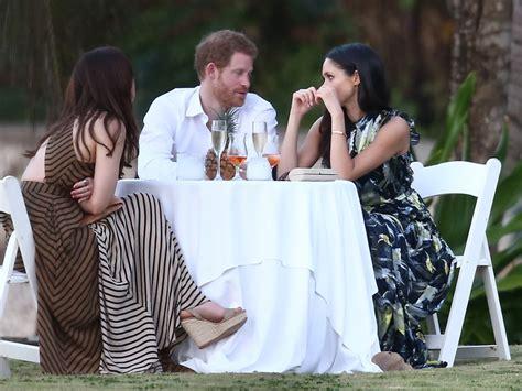 hochzeit prinz harry prince harry and meghan markle at wedding in jamaica 2017