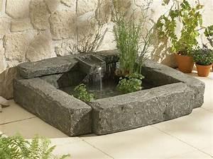 Bassin De Terrasse : catgorie fontaine de jardin du guide et comparateur d 39 achat ~ Premium-room.com Idées de Décoration