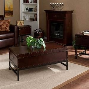 Harper blvd voyager trunk table collection by harper blvd for Overstock trunk coffee table