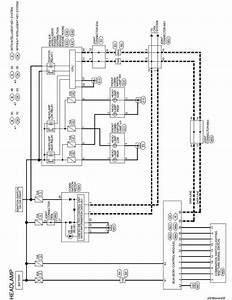Nissan Sentra Service Manual  Wiring Diagram - Exterior Lighting System