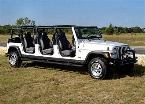 new 4 door jeep truck stretch jeep wrangler