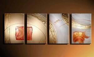 Cadre Décoratif Pas Cher : tableau abstrait moderne pas cher tableau abstrait moderne sur enperdresonlapin ~ Teatrodelosmanantiales.com Idées de Décoration