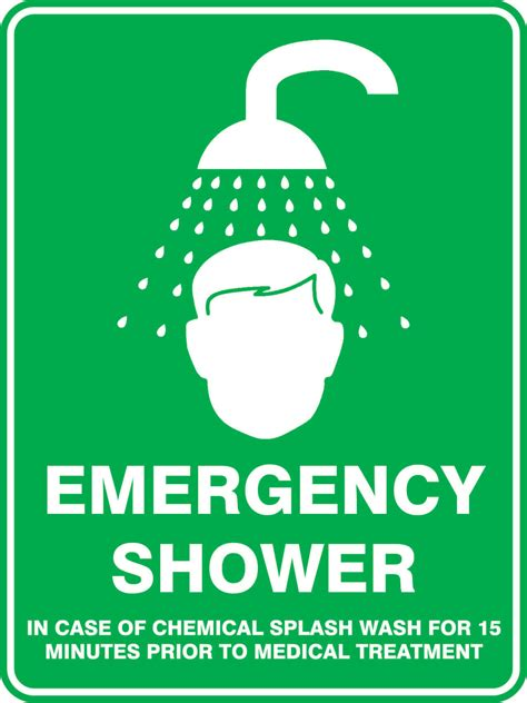 safety shower definition emergency shower sign choice image diagram writing chanel