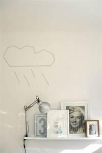 Die Neue Wand : einfach mit masking tape an die wand kleben home pinterest wanddeko neue wohnung ~ Markanthonyermac.com Haus und Dekorationen