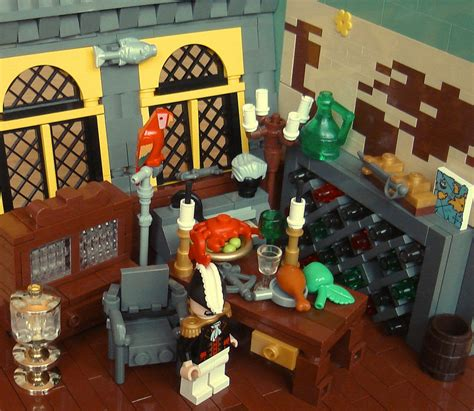 bureau pirate lego captain 39 s quarters by mister oo7 on deviantart