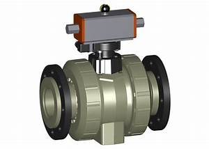 Progef Standard Ball Valve Type 231 Da  Double Acting