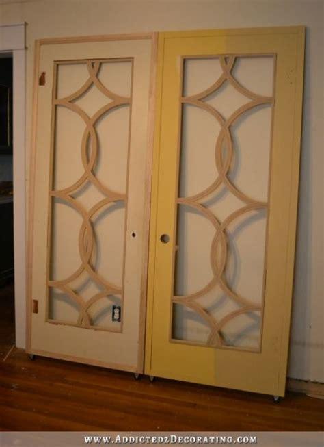 diy french door fretwork panels  tips
