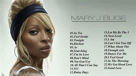 Mary J Blige Best Of Full Album Collection  Mary J Blige