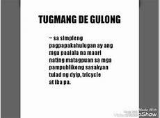 Group 3 Tugmang de Gulong 7Magilas Filipino YouTube