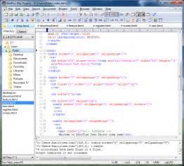 html designer editplus text editor features