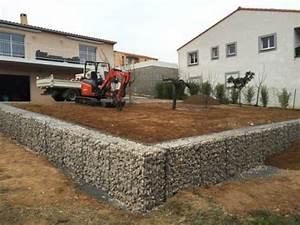 Mur En Gabion : mur gabion jardin accueil design et mobilier ~ Premium-room.com Idées de Décoration