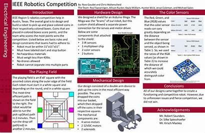 Senior Engineering Electrical Poster Project University Platform