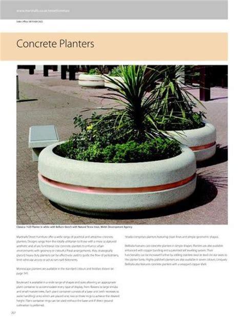 Monoscape Strada Square Concrete Planter Marshalls