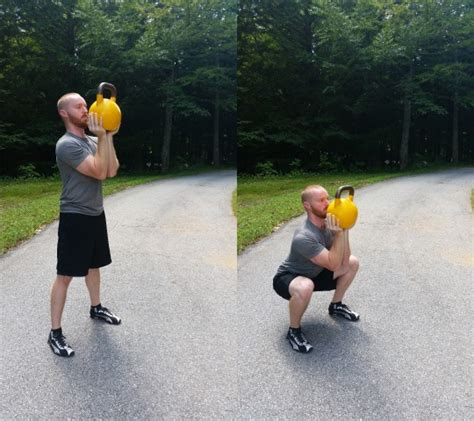 squat standards goblet much squats should kettlebell