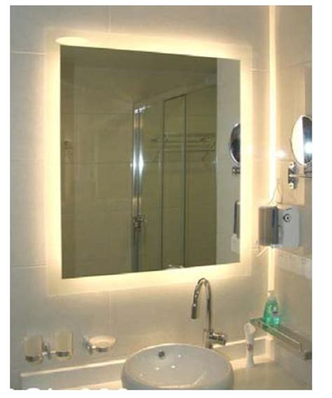 17 Best Ideas About Backlit Bathroom Mirror On Pinterest