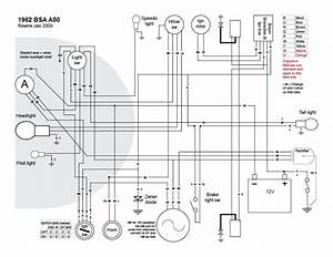 Old Bike Hack  A Proper Wiring Diagram  I Think
