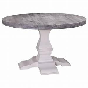 Runde Tischdecken Landhausstil : klostertisch runder esstisch aus massivholz ~ Watch28wear.com Haus und Dekorationen