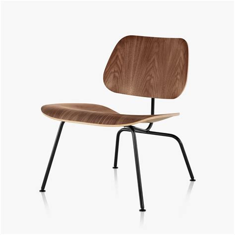 eames molded plywood dining chair eames molded plywood lounge chair with metal base by