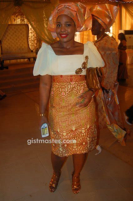 Placidas Blog Photosnigerian Women In Lace And Ankara