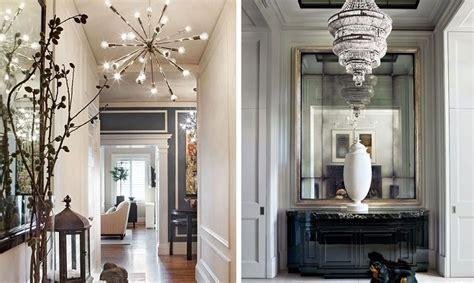 inspirations ideas elegant hallway lighting