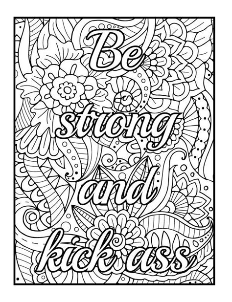 swear word coloring pages  coloring pages  kids words coloring book swear word