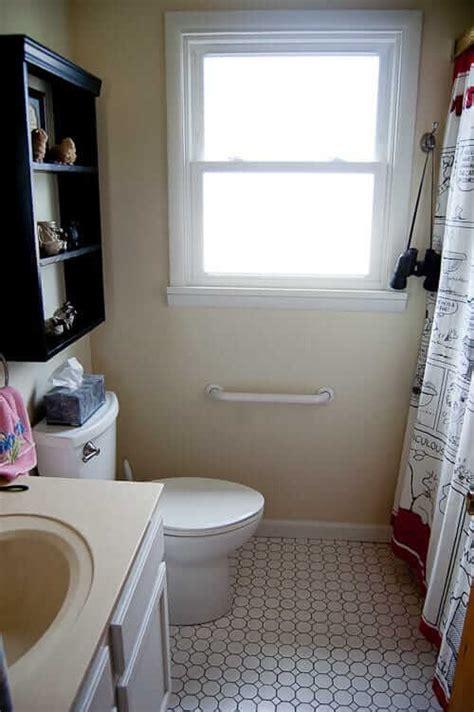 small bathroom remodel   steps retro renovation