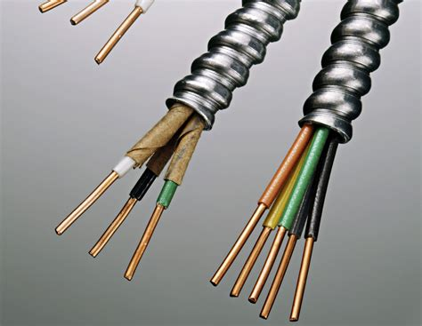 bx cables and armored electrical wire