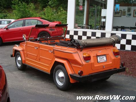Vw Thing by 1974 Vw Thing Type 181 Rossvw