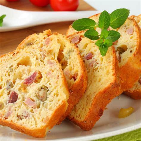 cuisine oeuf recette cake au jambon et olives facile rapide