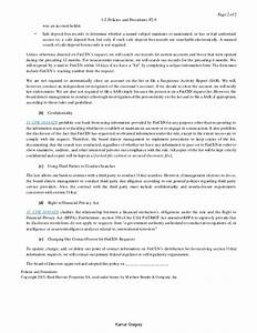 Writing Policies And Procedures Template Sample BSA AML Policie Procedure Template