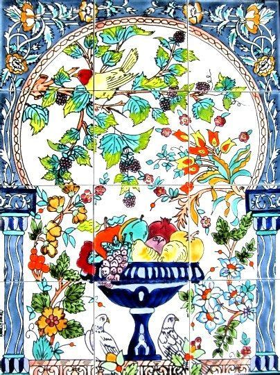 decorative ceramic tiles mosaic panel by
