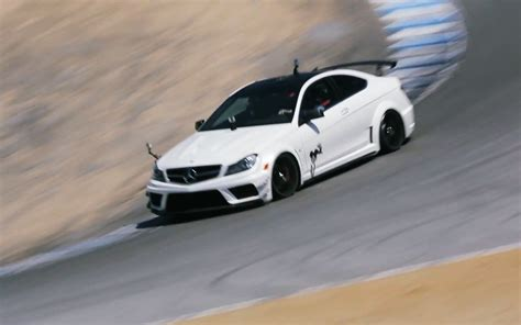 german muscle car mercedes benz  amg coupe black
