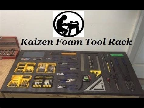 kaizen foam quick overview lean manufacturing youtube