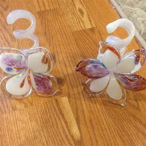Italian Murano Glass blown flowers TJ Maxx home decor