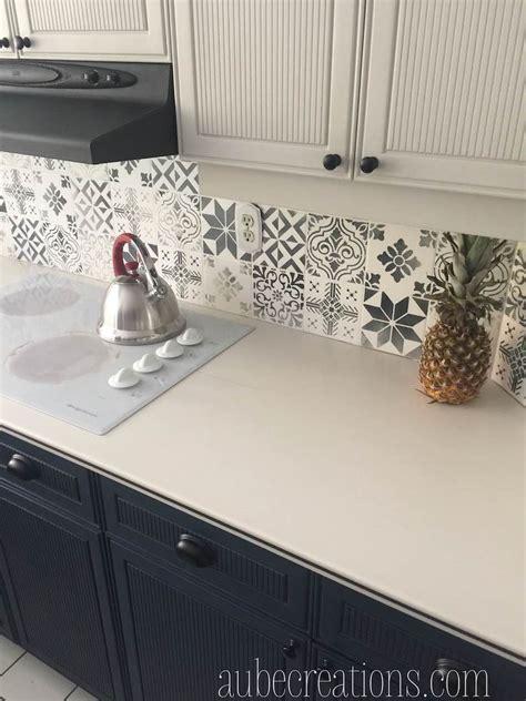 repeindre carrelage cuisine repeindre des carreaux avec de la chalk paint et des