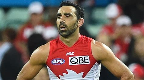 He announced his retirement in 2015. The Final Quarter Adam Goodes documentary: Gillon McLachlan concedes Goodes may be lost to game