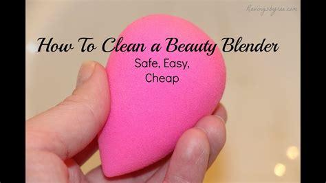 clean  beauty blender sponge youtube