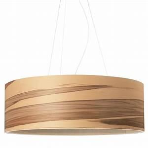 Abat Jour En Bois : grande suspension cylindrique avec abat jour en bois au ~ Dailycaller-alerts.com Idées de Décoration