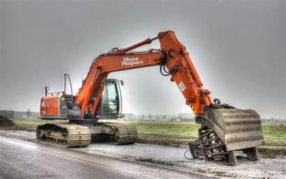 Excavator Hitachi Construction Machinery Equipment Zaxis Wallpapers
