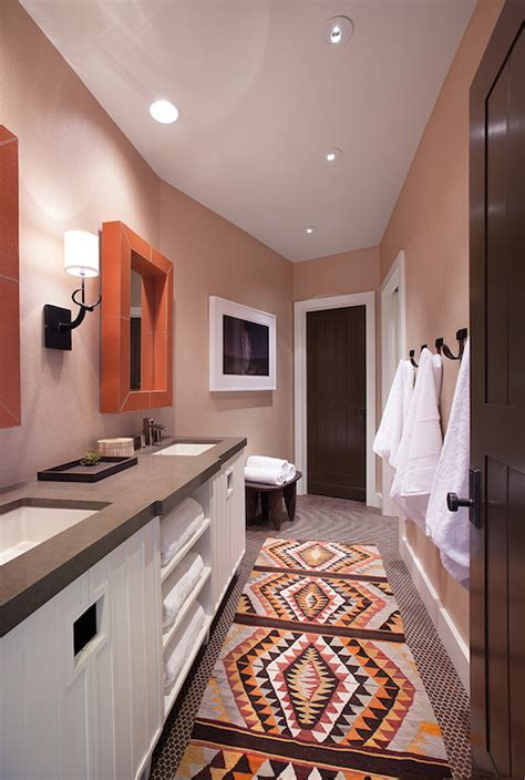gray bathroom vanity  shelf design ideas