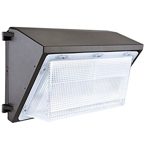 led wall pack lights luminwiz 45w 5000k outdoor lighting
