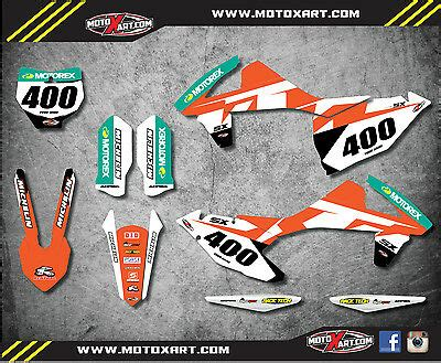 ktm sx 250 2016 2017 custom graphic kit reckless style stickers decals aud 119 99