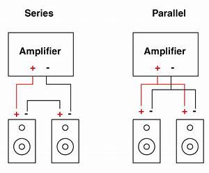 how to properly connect 3 speakers in parallel series quora With dual 4 ohm sub wiring on 2 channel amp kicker wiring diagram