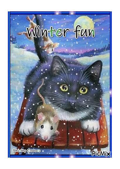 Winter Picmix Fun Season Snoopy