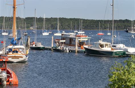 Boat Yard Dog Trials In Rockland by Rockland Harbor Dockage Available Maine Boats Homes