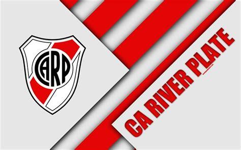 Download wallpapers CA River Plate, logo, emblem ...