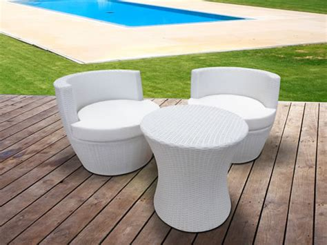 meuble jardin pas cher table de jardin solde objets decoration maison